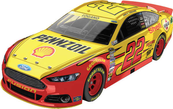 "2014 Joey Logano 1/64th Pennzoil ""Chase"" Pitstop Series car"