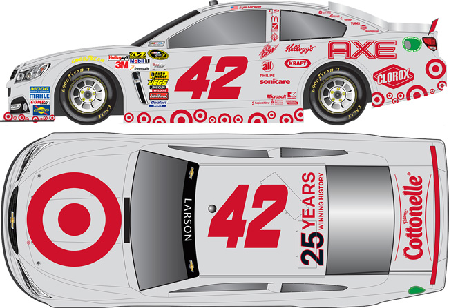 "2014 Kyle Target 1/64th Target ""Silver"" Pitstop Series car"