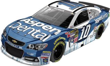 2015 Danica Patrick 1/64th Aspen Dental Pitstop Series car