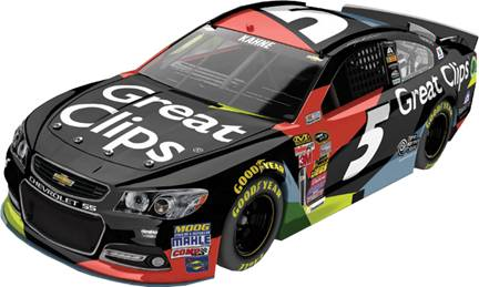 2015 Kasey Kahne 1/64th Great Clips Pitstop Series car