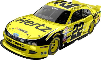 "2015 Joey Logano 1/64th Hertz ""Xfinity Serie"" Pitstop Series car"