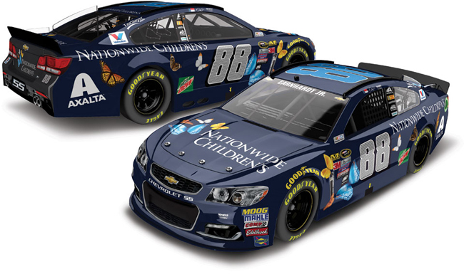 "2016 Dale Earnhardt Jr 1/64th Nationwide Insurance ""Childrens Hospital"" Pitstop Series car"