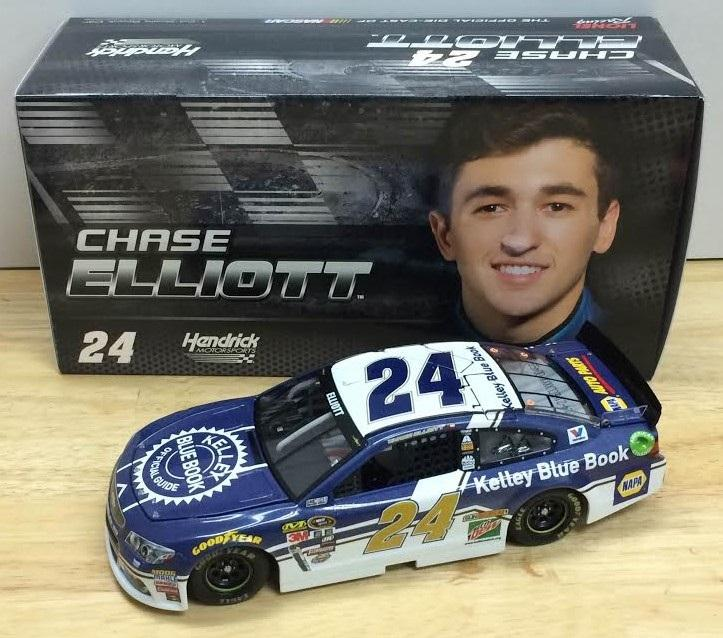 2016 Chase Elliott 1/24th Kelley Blue Book Car