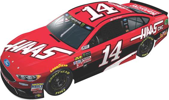 2017 Clint Bowyer 1/64th HAAS Automation Pitstop Series car