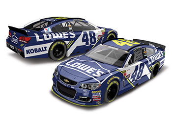 2017 Jimmie Johnson 1/24th Lowe's car