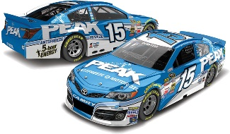 2014 Clint Bowyer 1/64th Peak Antifreeze Pitstop Series car